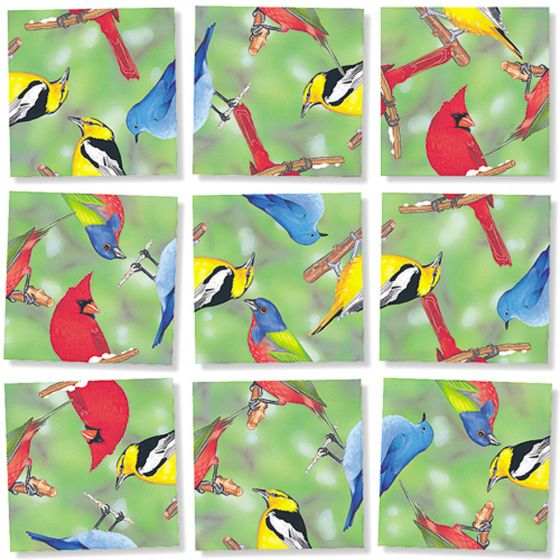 Birds (North American) Scramble Squares