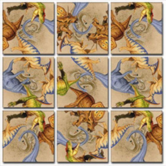 Dinosaurs Scramble Squares