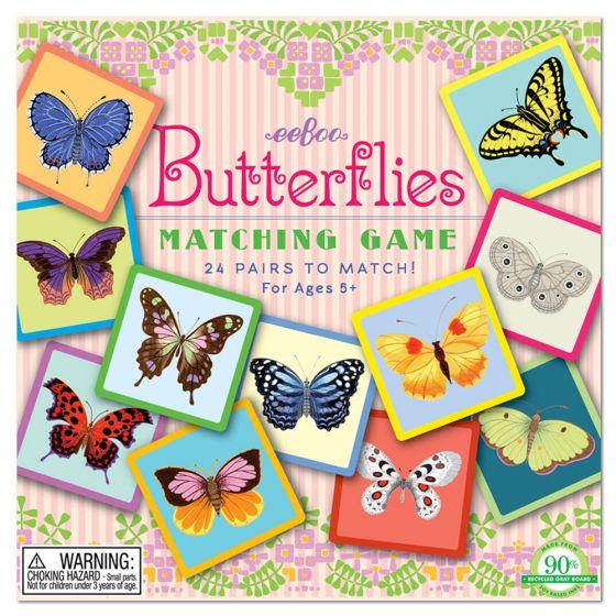 Matching Game - Butterflies.