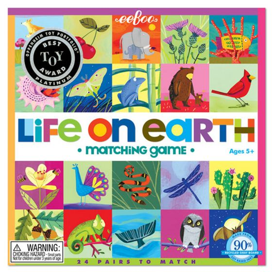 Matching Game - Life On Earth