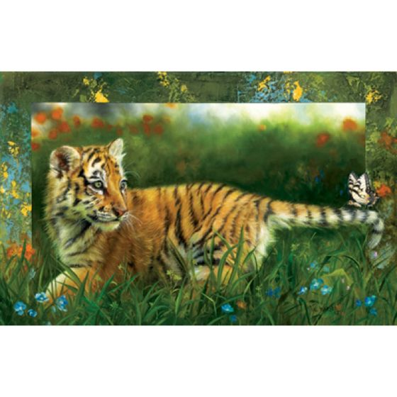 Tiger By The Tail (1000 Piece Puzzle)
