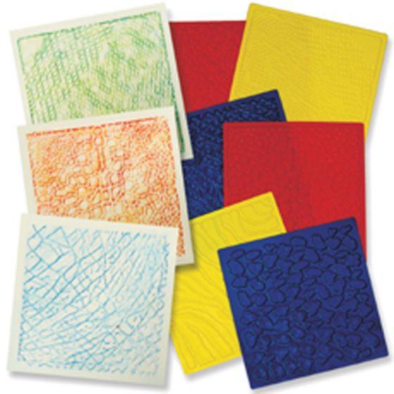 Animal Skins Rubbing Plates