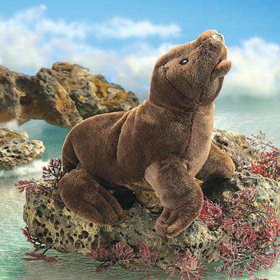 Sea Lion Pup Puppet.
