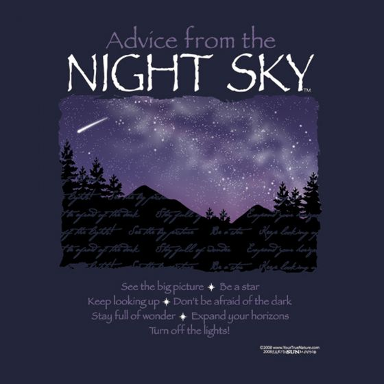 Advice From The Night Sky™ T-Shirt (Adult Small)