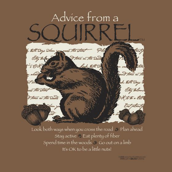 Advice From A Squirrel™ T-Shirt (Adult 2X).