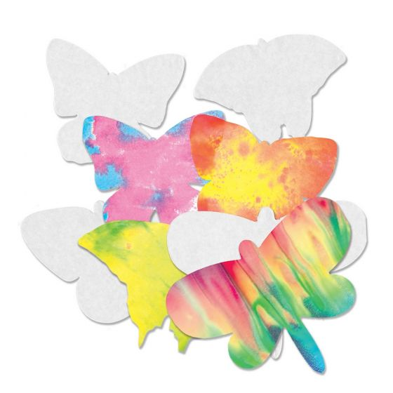 Color Diffusing Butterflies (4 designs, 48 butterflies total)