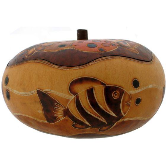 Fish Gourd Box