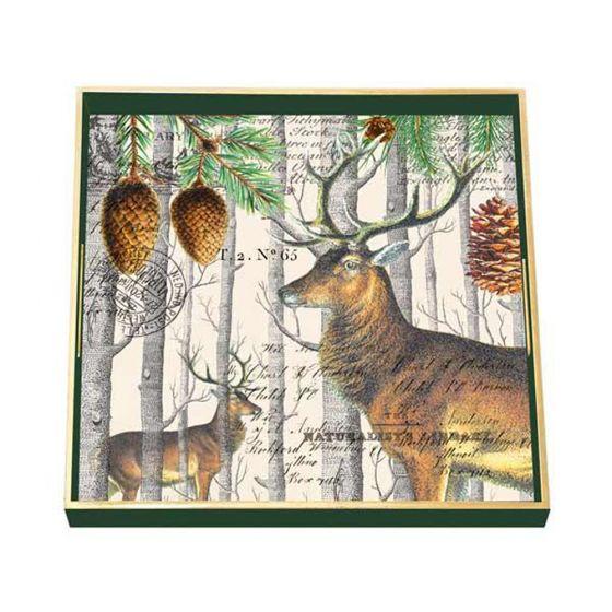 Balsam Fir Wooden Tray.