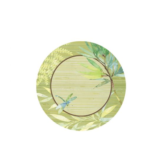 Dragonfly Melamine Plate