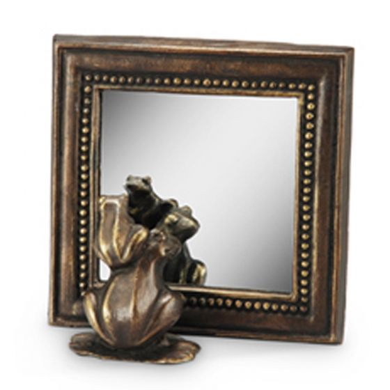 Frog And Young Mirror