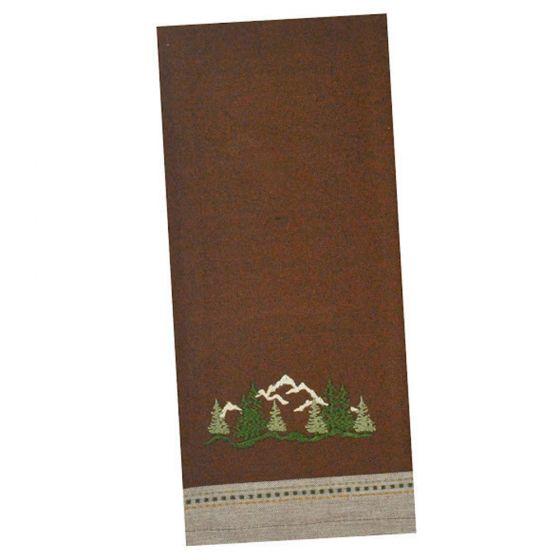 Evergreen Mountain Kitchen Towel