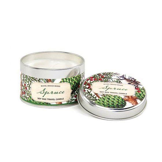Spruce Candle Tin