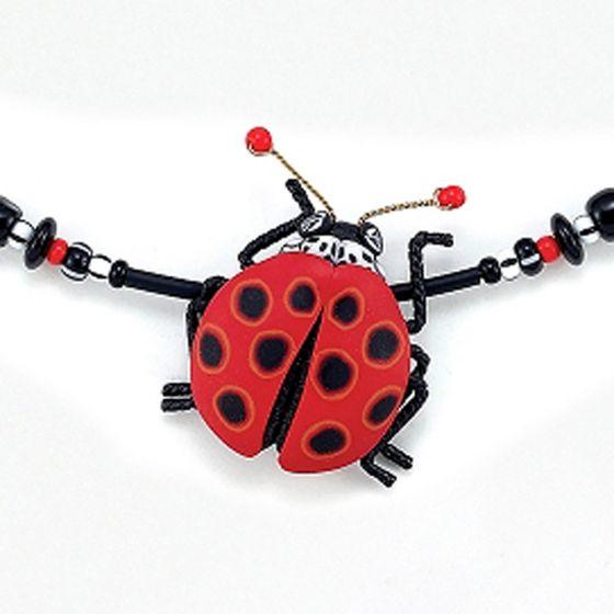 Yipes! Ladybug Necklace