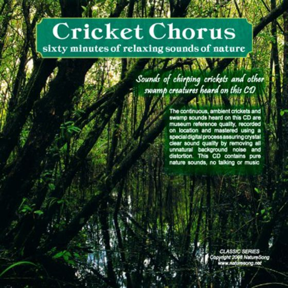 Cricket Chorus: Naturesong Cd