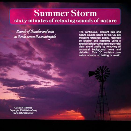 Summer Storm: Naturesong Cd