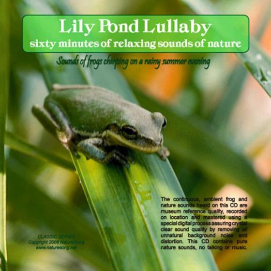 Lily Pond Lullaby: Naturesong Cd