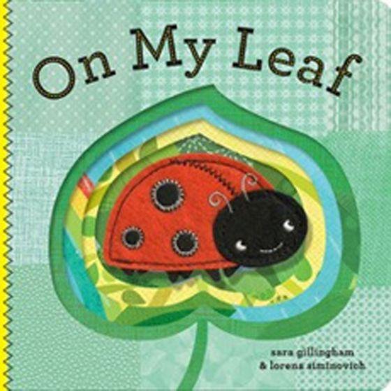 On My Leaf (Finger Puppet Board Book)