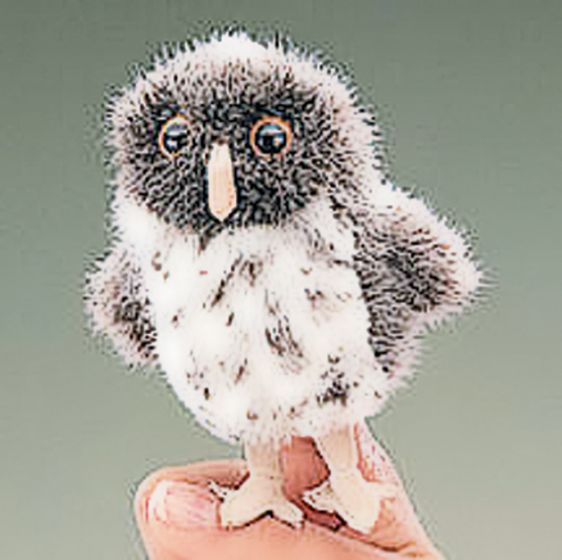 Owl (Spotted) Finger Puppet