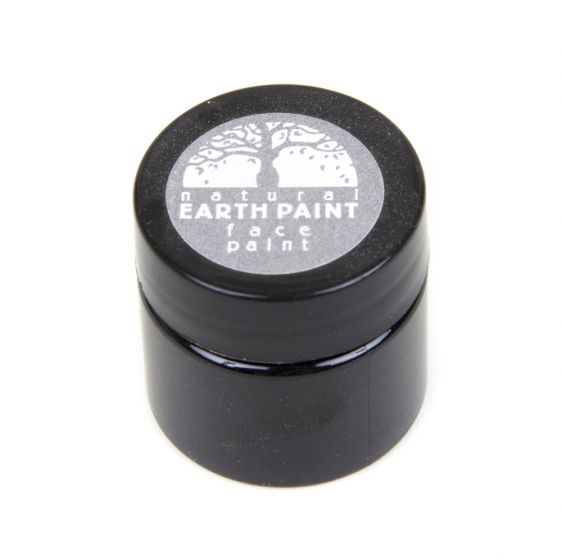 Earth Clay Face Paint Jar: Gray.