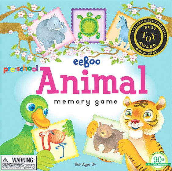 Memory Games: Animals