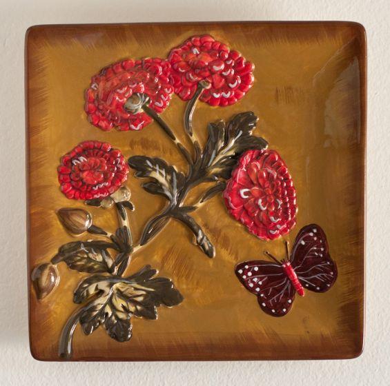 Autumn Garden Decorative Plate