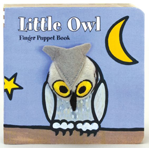 Little Owl (Finger Puppet Board Book)