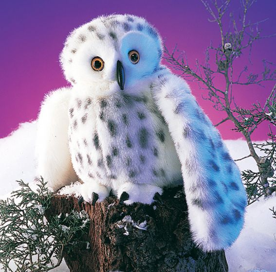 Owl (Snowy) Puppet
