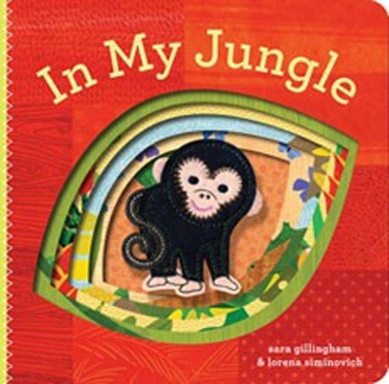 In My Jungle (Finger Puppet Board Book)