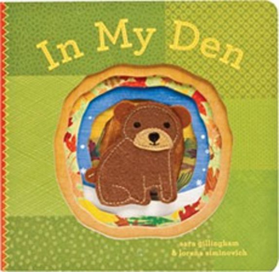 In My Den (Finger Puppet Board Book)