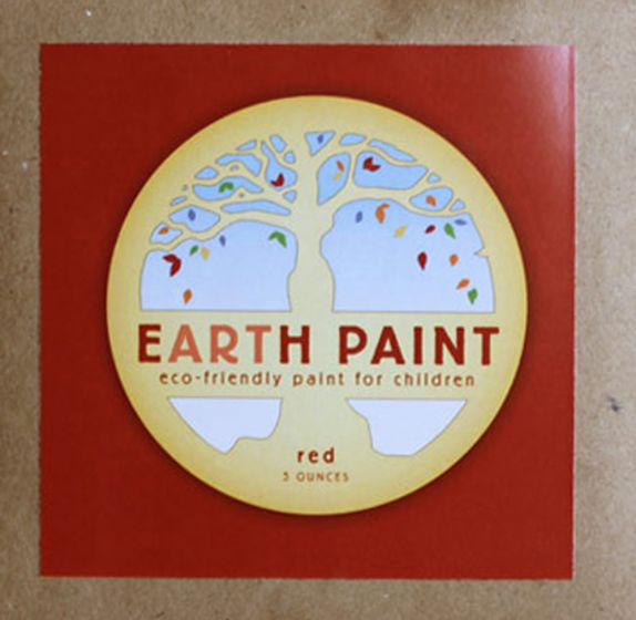Earth Clay Paint Packet: Red