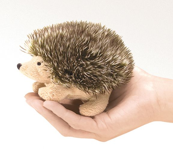 Hedgehog Finger Puppet