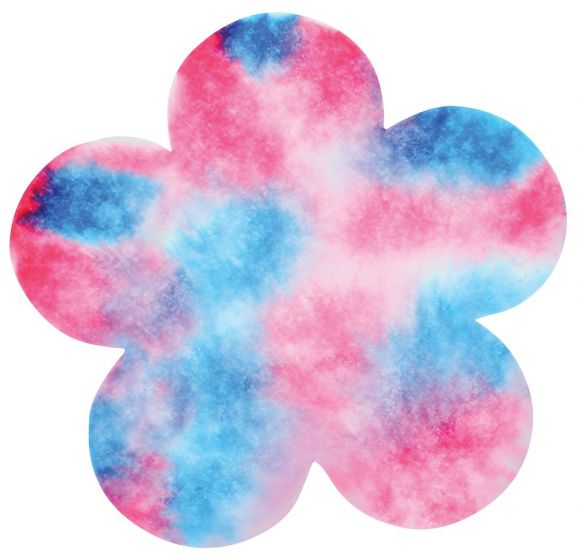 Color Diffusing Flowers (4 shapes, 80 flowers total)
