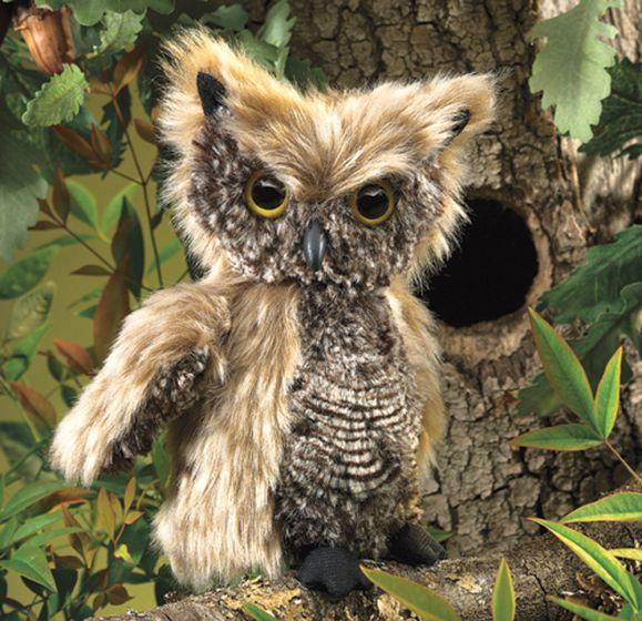 Owl (Screech) Puppet
