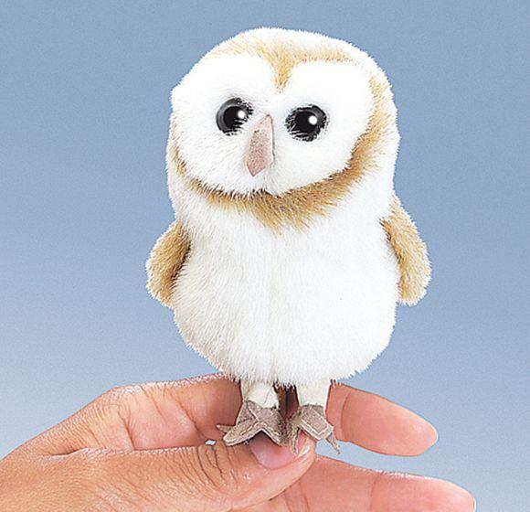 Owl (Barn) Finger Puppet