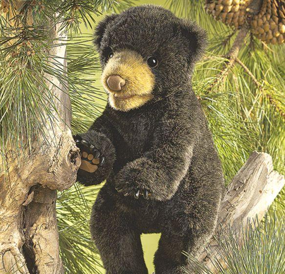 Bear Cub (Black) Puppet