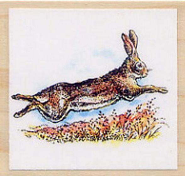 Rabbit (Jack) Rubber Stamp