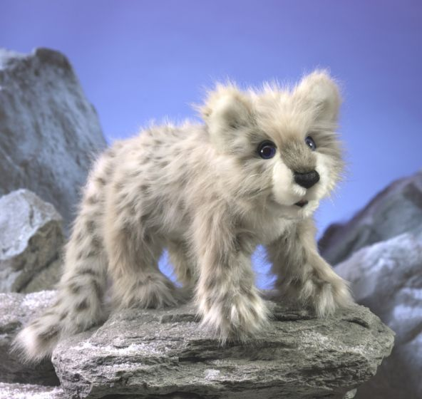 Leopard Cub (Snow) Puppet