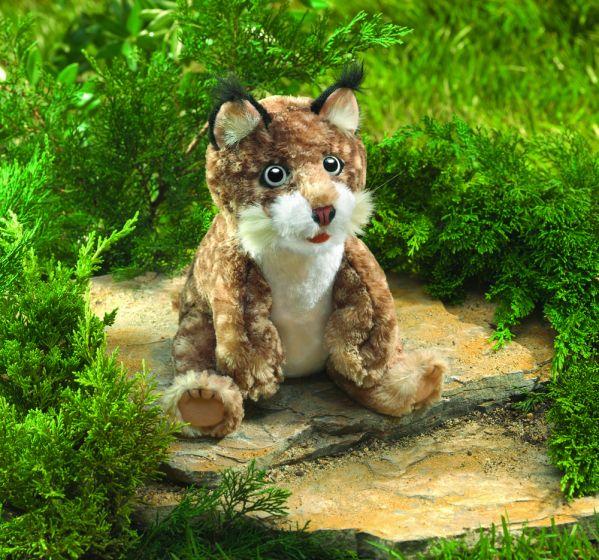 Bobcat Kitten Puppet