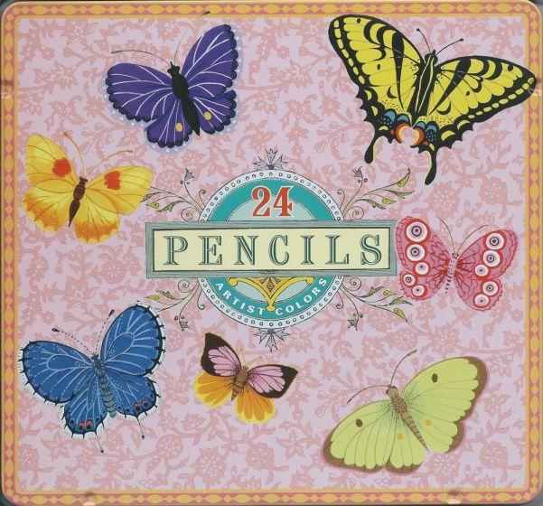 Butterflies Artist Pencils