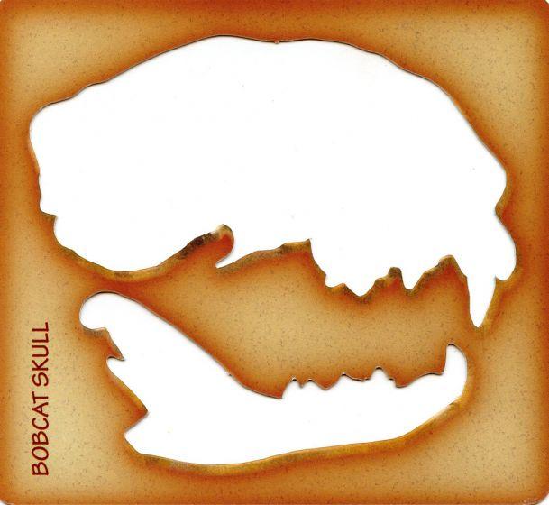 Bobcat Trace-A-Skull® Template