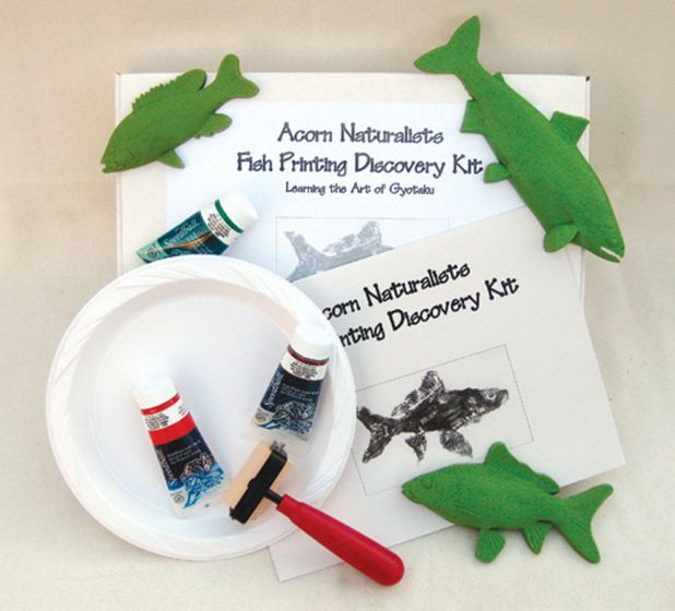 Freshwater Fish Printing Discovery Kit