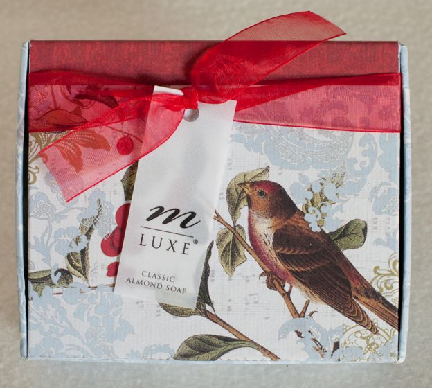 Alise Holiday Almond Soap Gift Set.
