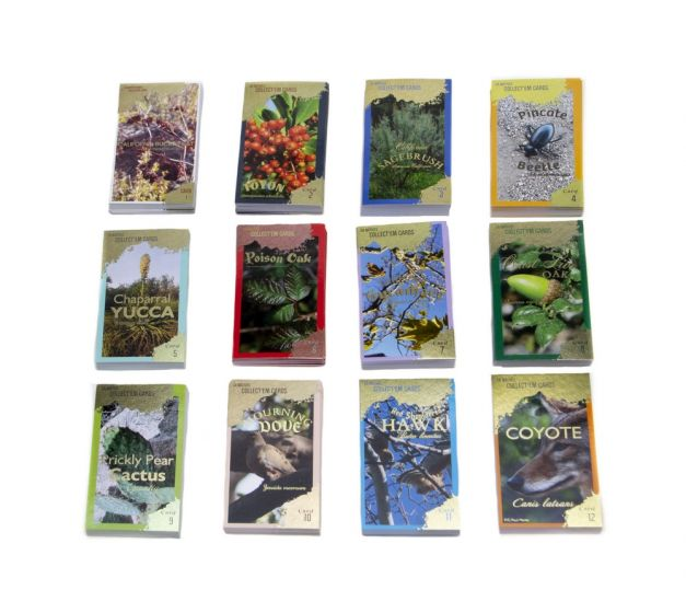 California Natives Trading Cards Educator Game Master Set (Cards 1-12)
