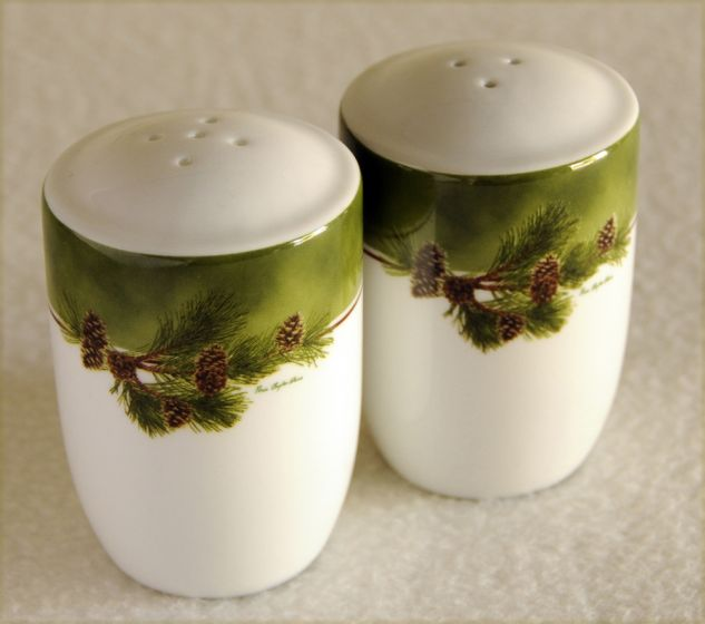 Pinecone Salt & Pepper Shakers.