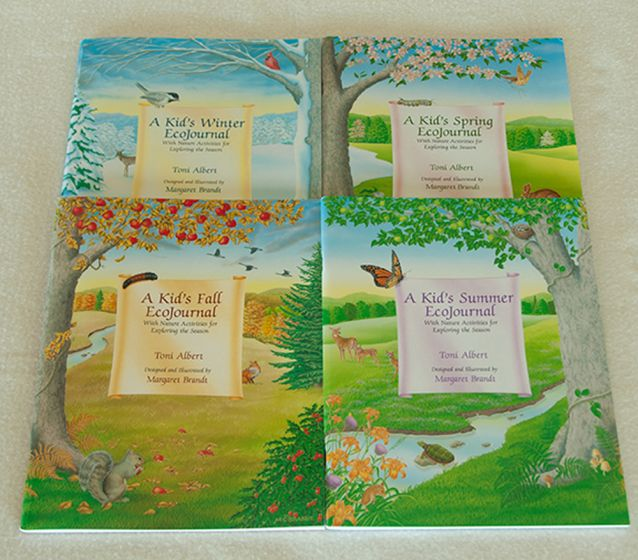 Kid'S Ecojournal Series Collection (4 Titles).