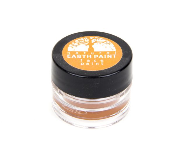 Earth Clay Face Paint Jar: Orange.