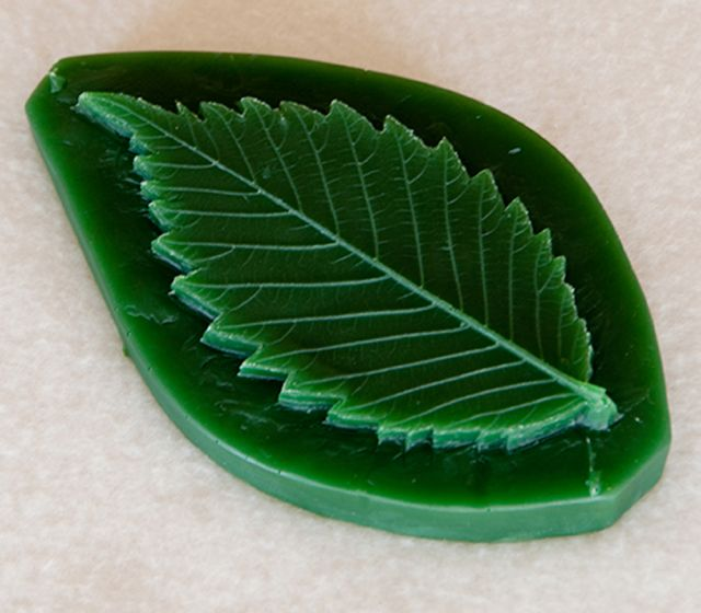 Elm Leaf Replica
