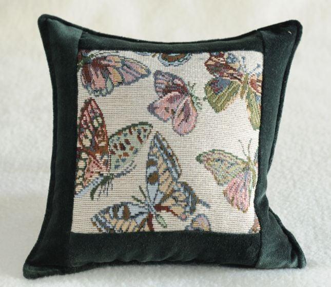 Butterflies Balsam Heirloom Pillow