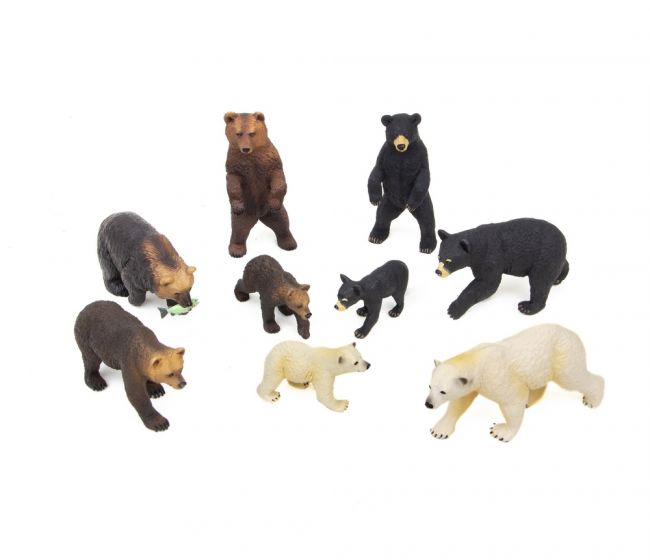 Bears Model Collection (Discounted Set of 9 Models)