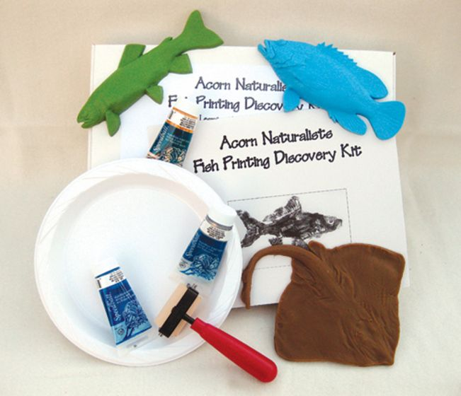 Introductory Fish Printing Discovery Kit